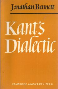KANT'S DIALECTIC