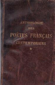 ANTHOLOGIE DES POETES FRANCAIS CONTEMPORAINS