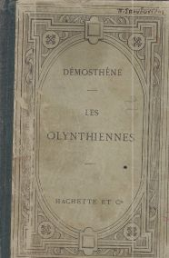 DEMOSTHENE- LES OLYNTHIENNES