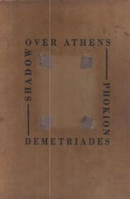SHADOW OVER ATHENS