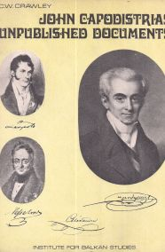 JOHN CAPODISTRIAS: UNPUBLISHED DOCUMENTS