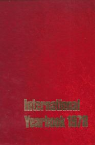 INTERNATIONAL YEARBOOK 1978