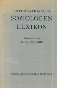 INTERNATIONALES SOZIOLOGEN LEXIKON