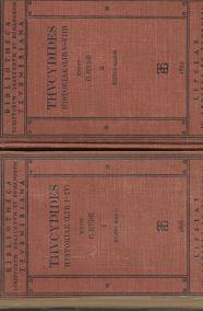 THVCYDIDES HISTORIAE (LIB I-IV) + (LIB. V-VIII)