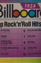 BILLBOARD 1958 TOP ROCK'N'ROLL HITS ΔΙΣΚΟΣ ΒΙΝΥΛΙΟΥ 78 ΣΤΡΟΦΕΣ