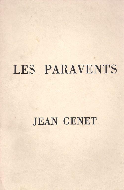 LES PARAVENTS - ΖΕΝΕ ΖΑΝ - GENET JEAN
