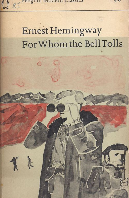 for whom the bell tolls term paper Essay for whom the bell tolls few subjects can be discussed with more insightfulness and curiosity than death the unpredictability and grimness of it are conveyed well in karl shapiro's poem, auto wreck.