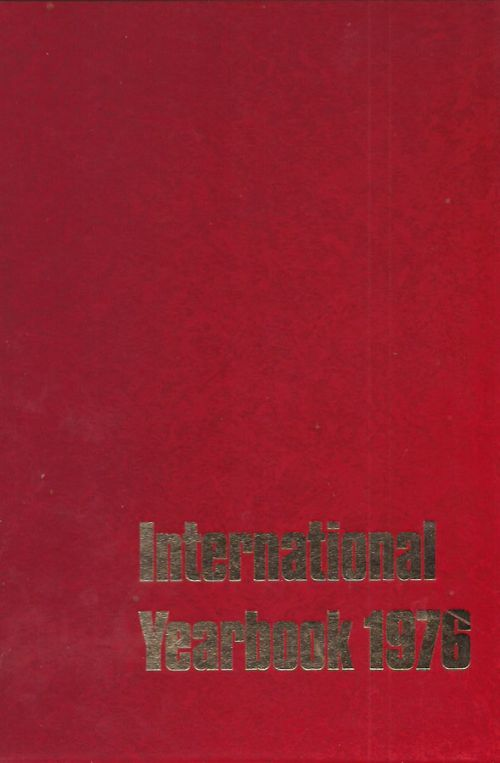 INTERNATIONAL YEARBOOK 1976