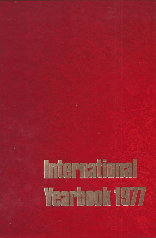 INTERNATIONAL YEARBOOK 1977