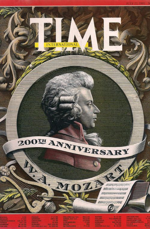 ΤΙΜΕ - 200th ANNIVERSARY W.A. MOZART - JULY 22 1991 - No29, Vol138
