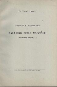 CONTRIBUTO ALLA CONOSCENZA DEL BALANINO DELLE NOCIOLE (BALANINUS NUCUM L.)