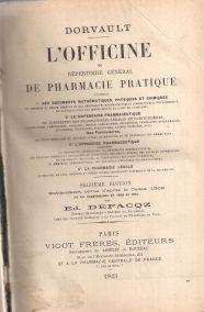 L'OFFICINE OU REPERTOIRE GENERAL DE PHARMACIE PRATIQUE