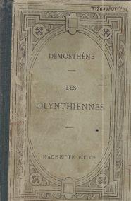 DEMOSTHENE- LES OLYNTHIENNES