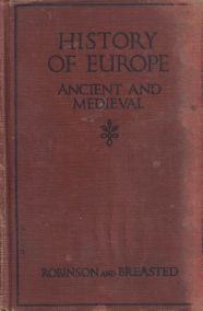 HISTORY OF EUROPE - ANCIENT AND MEDIEVAL