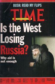 ΤΙΜΕ - IS THE WEST LOSING RUSSIA? - MARCH 16 1992 - No11, Vol139
