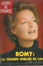 JOURS DE FRANCE - ROMY: LA GRANDE OUBLIEE DE CANNES - No 1533 19-25 MAI 1984