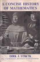 A CONCIE HISTORY OF MATHEMATICS