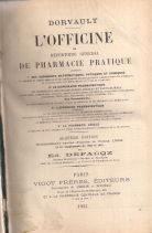 L'OFFICINE OU REPERTOIRE GENERAL DE PHARMACIE PRATIQUE