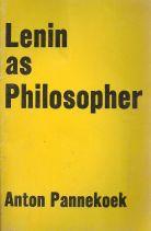 LENIN AS PHILOSOPHER