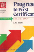 PROGRESS TO FIRST CERTIFICATE STUDENT'S BOOK