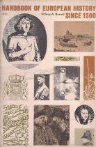 HANDBOOK OF EUROPEAN HISTORY SINCE 1500