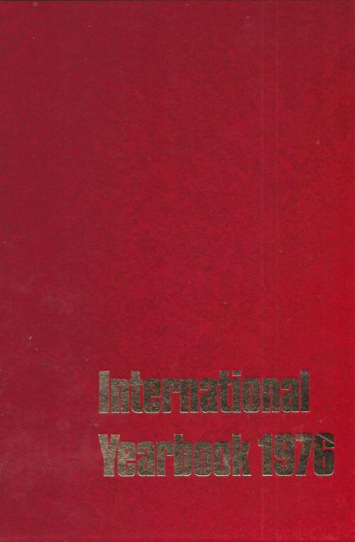 INTERNATIONAL YEARBOOK 1976