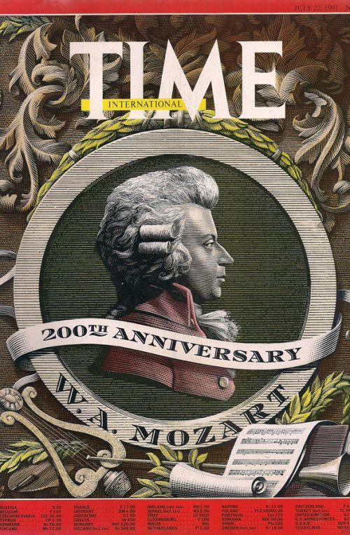 ΤΙΜΕ - 200th ANNIVERSARY W.A. MOZART - JULY 22 1991 - No29, Vol138